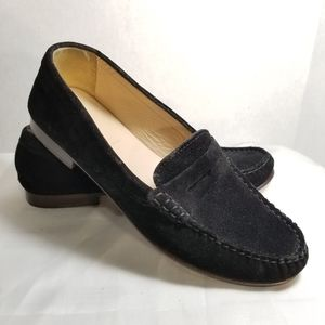 J Crew  Suede Leather Penney Loafers Womens 7.5
